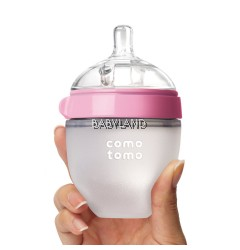 Comotomo Baby Bottle 150ml 0M+ (Pink)