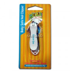 Bumble Bee Baby Safe Nail Clipper (Pink/Blue)
