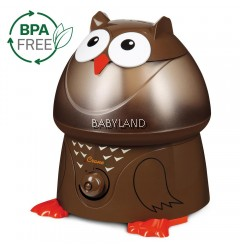 Crane Adorable Ultrasonic Cool Mist Humidifier (Owl)