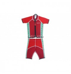 Cheekaaboo Summer Paradise Twinsets Suit Red/Toucan 3-4Y (M)