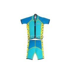 Cheekaaboo Summer Paradise Twinwets Suit - Light Blue/Camper Van 4-6Y (L)