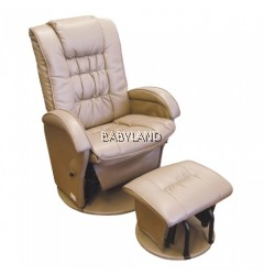 Babyhood Manhattan Glider Chair - BEIGE