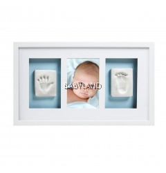 Pearhead Babyprints Deluxe Wall Frame - WHITE (with Closed Box)
