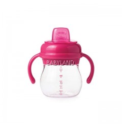 Oxo Tot Soft Spout Cup with Removable Handles (Pink) 4m+