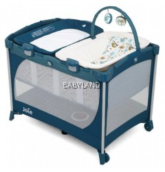 Joie Commuter Change & Snooze Playpen (Tropical Paradise)