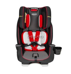 Graco Milestone LX All-In-One Convertible Car Seat (Red)