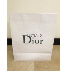 Dior Paper Bag Large White