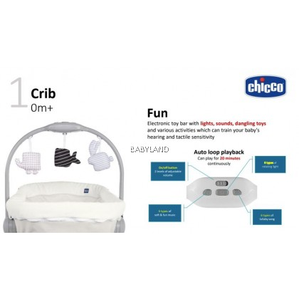 Chicco Baby Hug Air 4-In-1 FREE Mattress