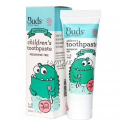 Buds Children'S Toothpaste Pepermint With Xylitol 1-3Y (50Ml)